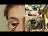 Хищный макияж от Анджелины Джоли